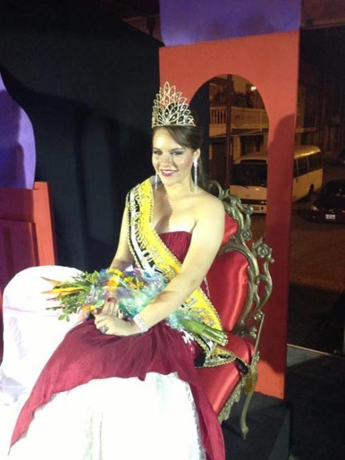 Corina Zambrano Valderrama, Reina del Cantón Tosagua 2013 - 2014