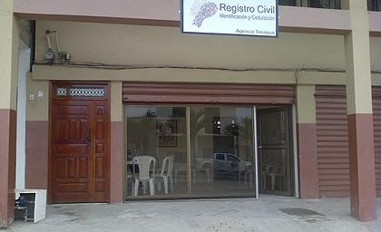 registro civil de tosagua